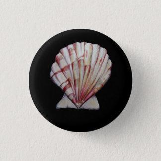 Badge Rond 2,50 Cm goupille de coquille de feston