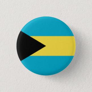 Badge Rond 2,50 Cm Goupille des Bahamas