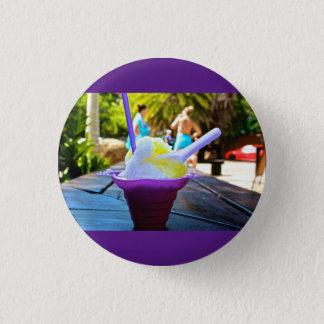 Badge Rond 2,50 Cm Goupille hawaïenne de bouton de glace