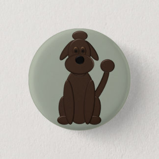 Badge Rond 2,50 Cm Gunnar - qui est un bon garçon