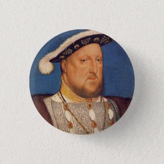 Badge Rond 2,50 Cm Henry VIII