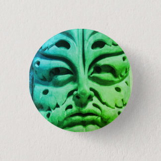 Badge Rond 2,50 Cm Homme vert de cathédrale de Bamberg