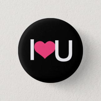 Badge Rond 2,50 Cm I coeur vous