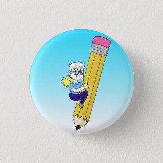 Badge Rond 2,50 Cm Icône de PastaFaceProductions