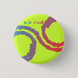 Badge Rond 2,50 Cm il est vrai