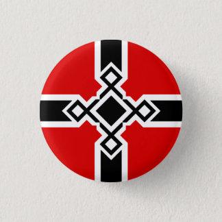 Badge Rond 2,50 Cm Insigne croisé de Rune d'Allemand