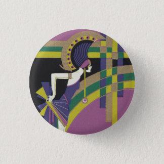 Badge Rond 2,50 Cm Insigne de fille de danse de Deco