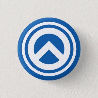 Badge Rond 2,50 Cm Insigne de la Grèce - symbole de lambda