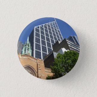 Badge Rond 2,50 Cm Insigne d'église de ville