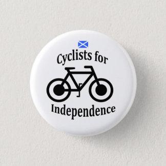 Badge Rond 2,50 Cm Insigne écossais de vélo de cycliste de