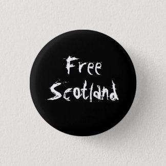 Badge Rond 2,50 Cm Insigne écossais libre de l'indépendance de