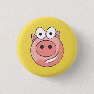 Badge Rond 2,50 Cm Insigne porcin de Biggy