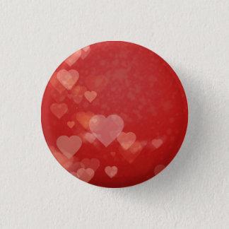 Badge Rond 2,50 Cm Insigne romantique de thème de coeur