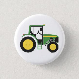 Badge Rond 2,50 Cm Insigne vert de tracteur