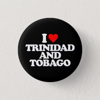BADGE ROND 2,50 CM J'AIME LE TRINIDAD-ET-TOBAGO