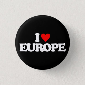 BADGE ROND 2,50 CM J'AIME L'EUROPE