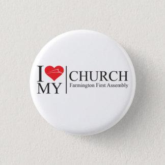 Badge Rond 2,50 Cm J'aime mon église