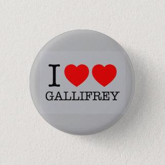 Badge Rond 2,50 Cm Je double le coeur Gallifrey