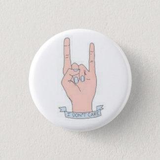Badge Rond 2,50 Cm Je ne m'inquiète pas le bouton