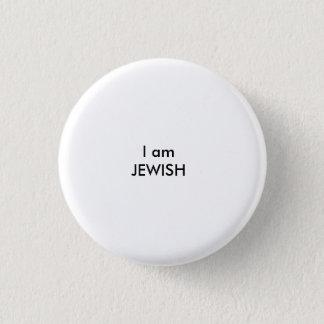 Badge Rond 2,50 Cm Je suis JUIF