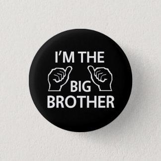 Badge Rond 2,50 Cm Je suis le frère