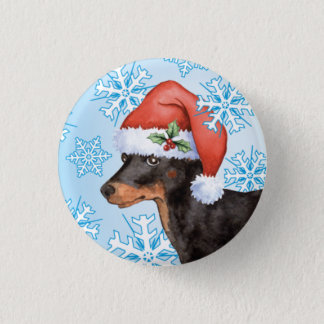 Badge Rond 2,50 Cm Jouet heureux Manchester Terrier de Howlidays