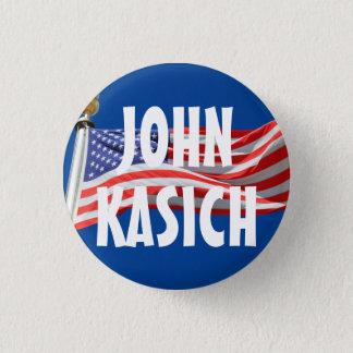 Badge Rond 2,50 Cm Kasich fonctionnant pour le bouton du Président