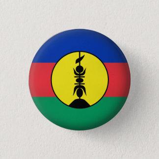 Badge Rond 2,50 Cm La Nouvelle-Calédonie ronde