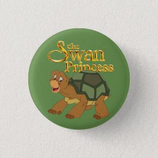Badge Rond 2,50 Cm La princesse de cygne - bouton vert de vitesse