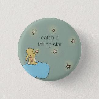 Badge Rond 2,50 Cm Lapin de Roo - étoile filante