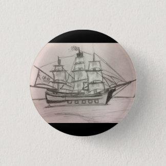 Badge Rond 2,50 Cm Le bouton du marin