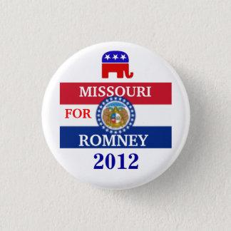Badge Rond 2,50 Cm Le MISSOURI pour Romney 2012