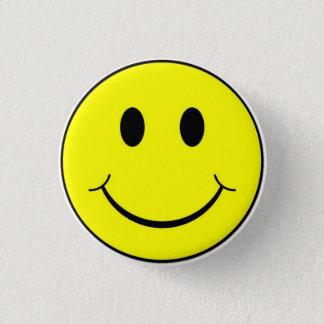 Badge Rond 2,50 Cm Les rétros années 70 classiques jaunissent le