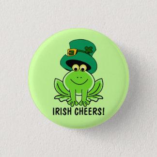 Badge Rond 2,50 Cm L'Irlandais drôle encourage le jour de St Patrick
