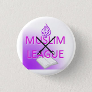 Badge Rond 2,50 Cm Logo de ligue musulmane