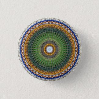 Badge Rond 2,50 Cm Mandala de kaléidoscope au Portugal : Motif