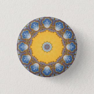 Badge Rond 2,50 Cm Mandala de kaléidoscope au Portugal : Motif 224,4