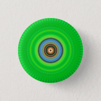 Badge Rond 2,50 Cm Mandala de kaléidoscope au Portugal : Motif 224,5