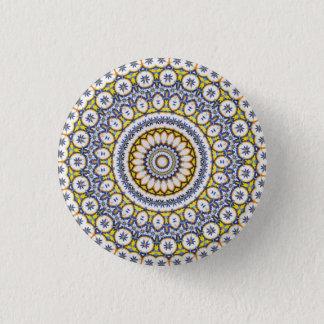 Badge Rond 2,50 Cm Mandala de kaléidoscope au Portugal : Motif 224,7