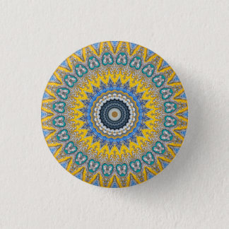 Badge Rond 2,50 Cm Mandala de kaléidoscope au Portugal : Motif 224,8