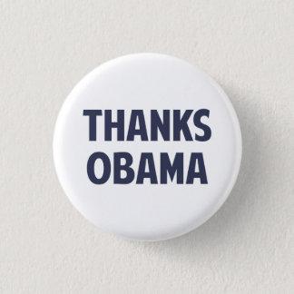Badge Rond 2,50 Cm Merci Barack Obama