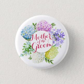 Badge Rond 2,50 Cm Mère du ressort de marié épousant le bouton de Pin
