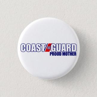 Badge Rond 2,50 Cm Mère fière de la garde côtière