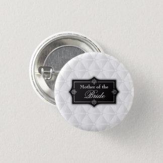Badge Rond 2,50 Cm Mère luxueuse de la jeune mariée épousant le