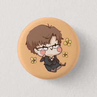 Badge Rond 2,50 Cm Messager mystique : Bouton heureux de Jaehee