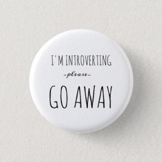Badge Rond 2,50 Cm Mini bouton introverti