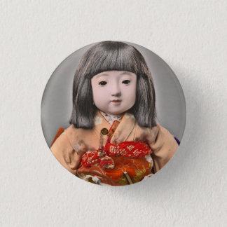 Badge Rond 2,50 Cm Mlle Chosen Button