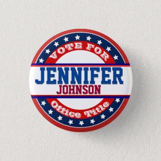 Badge Rond 2,50 Cm Modèle de campagne politique