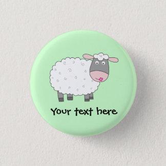 Badge Rond 2,50 Cm Moutons de marguerite