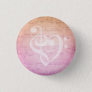 Badge Rond 2,50 Cm Musique d'amour